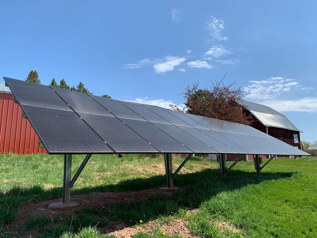 Residential solar panels | Wolf Track Energy