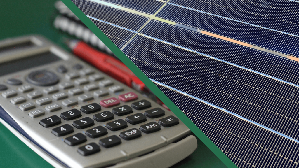 Solar panel calculator | Wolf Track Energy
