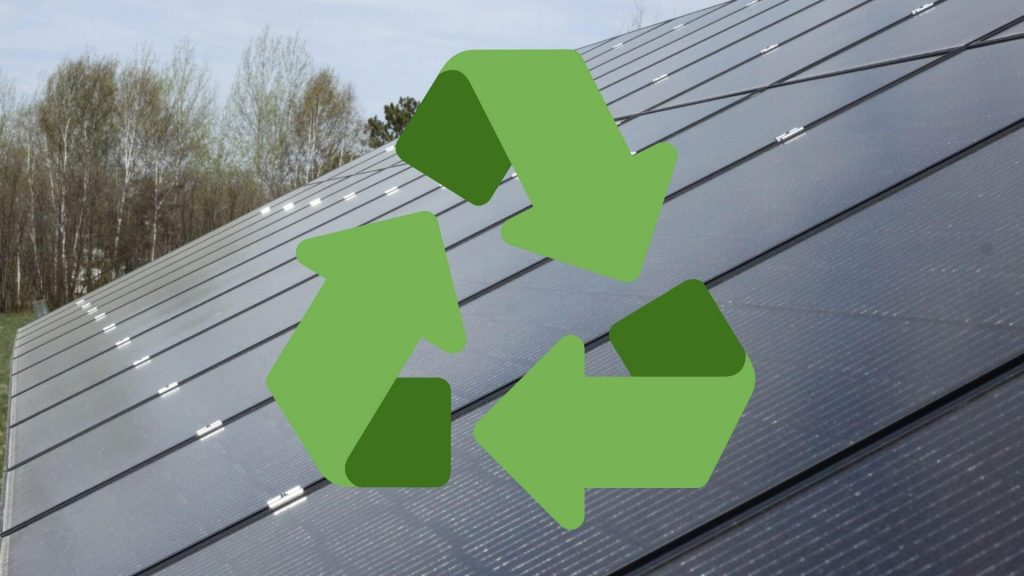 Solar panel recycling | Wolf Track Energy