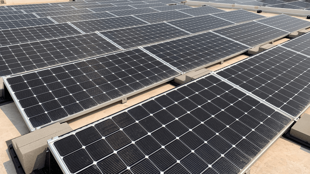 Commercial solar panels | Wolf Track Energy
